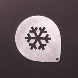 Šablona - sněhová vločka  - NEREZ
